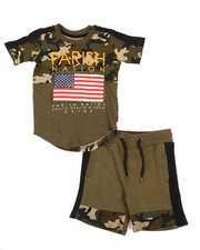 Boys - Americana Sport 2 Piece Short Set (2T-4T)-2231601