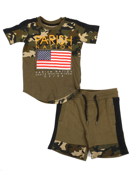 Parish - Americana Sport 2 Piece Short Set (2T-4T)