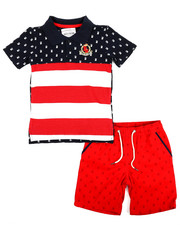 Sizes 4-7x - Kids - Americana 2 Piece Short Set (4-7)-2231578