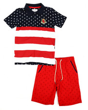 Boys - Americana 2 Piece Short Set (8-20)-2231583