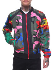 Light Jackets - Color Camo Bomber-2231982