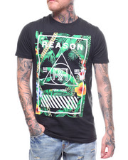 Reason - BOTANICAL BOXPRINT TEE-2231699