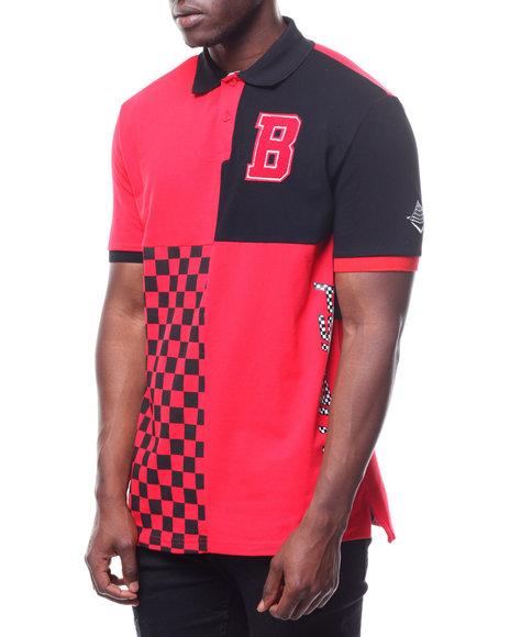 232c78621aa4 Buy BP Micro Checker Block Polo Men s Shirts from Black Pyramid ...