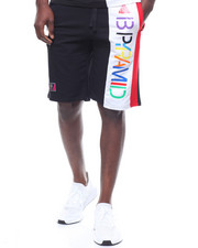 Black Pyramid - BPyramid Color Block Shorts-2232538