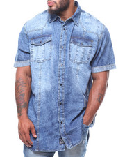 Rocawear - S/S Rodeo Denim Shirt (B&T)-2232429