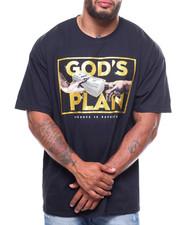 Big & Tall - Gods Plan Tee (B&T)-2232501