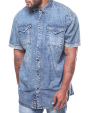 Rocawear - S/S Acid Wash Denim Shirt (B&T)-2232451
