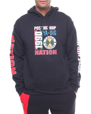 Cross Colours - POST HIP-HOP NATION PULLOVER HOODIE-2233309