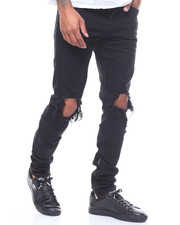Crysp - Pacific black ripped JEAN-2233292