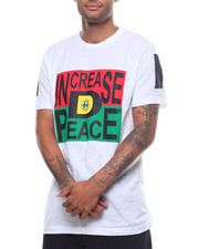 T-Shirts - INCREASE D PEACE TEE-2233224