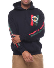 Cross Colours - FLAG LOGO PULLOVER HOODIE-2233287