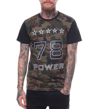 T-Shirts - CAMO POWER RESPECT TEE-2233493