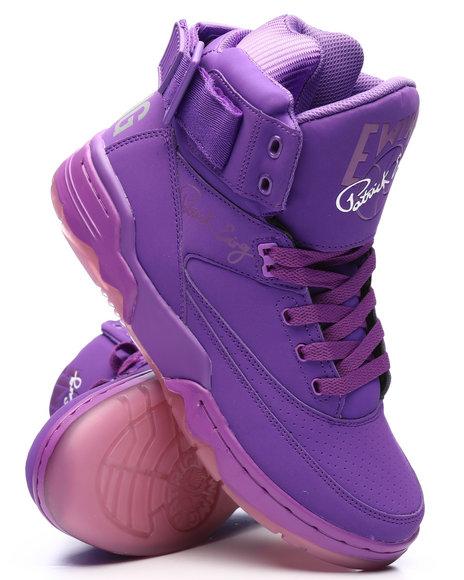 EWING - Ewing 33 Hi Electric Purple Sneakers