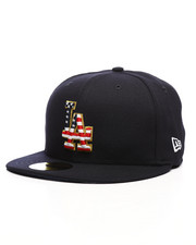 New Era - 59Fifty July 4th LA Dodgers Fitted Hat-2233704