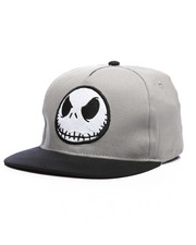 Hats - Nightmare Before Christmas Jack Snapback Hat-2233402