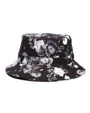 Bucket - Blurred Floral Bucket Hat-2232055