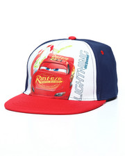 Accessories - Cars 3 Lightning Mcqueen Speed Snapback Hat-2233440
