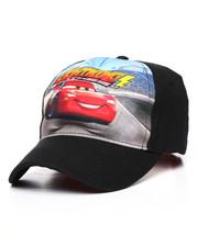 Arcade Styles - Cars 3 Lightning Mcqueen Eva Strapback Hat-2233439