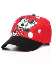 Strapback - Minnie Mouse Polka Dot Strapback Hat-2233435