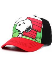 Arcade Styles - Peanuts Snoopy Strapback Hat-2233413