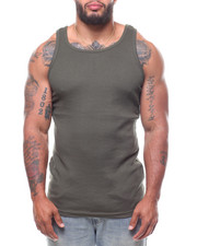 Tanks - Heavy Weight Rib Tank Top (B&T)-2233844
