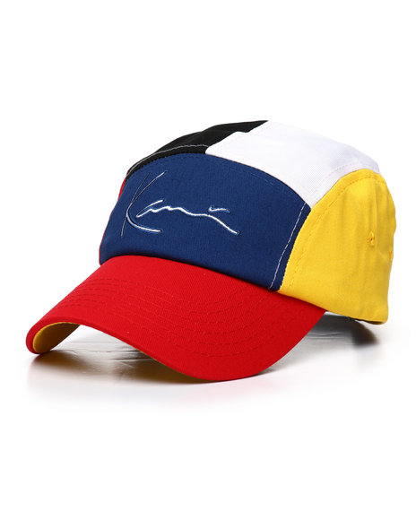 ce67db453f Buy Color Block Dad Hat Men's Hats from Karl Kani. Find Karl Kani ...