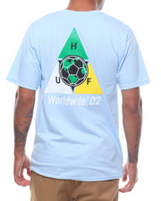HUF - WORLD CUPTAKEOVER  S/S TEE-2234532