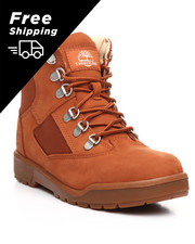 Free shipping A - 6-Inch Burnt Sienna Field Boots (4-7)-2177852