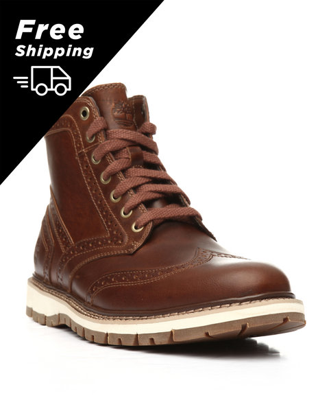 3b4686573144 Buy Britton Hill Wingtip Boots Men s Footwear from Timberland. Find ...