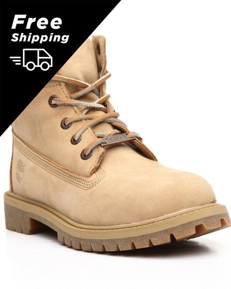 Timberland - 6-Inch Premium Boot Exotic Collar (3.5-7)