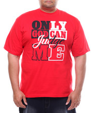 T-Shirts - Only God Can Judge Me Tee (B&T)-2232114