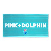 Pink Dolphin - Summer Beach Towel-2232360