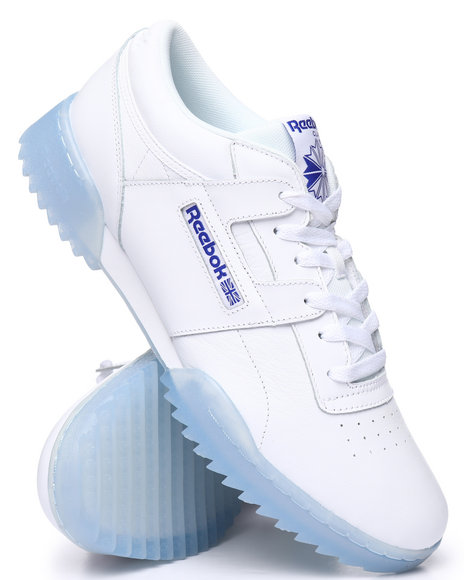 ee87063e0 Buy Workout Clean Ripple Ice Sneakers Men's Footwear from Reebok ...
