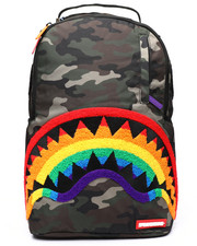Sprayground - Chenille Rainbow Shark Backpack (Unisex)-2235278