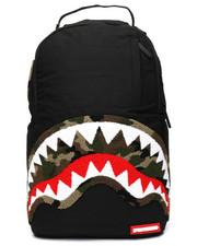 Sprayground - Camo Chenille Shark Backpack (Unisex)-2235277