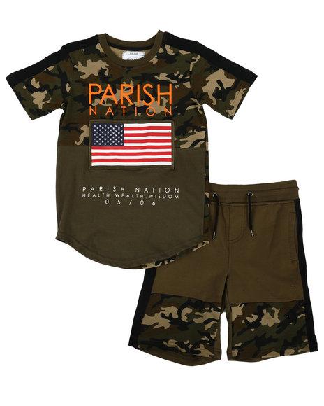 Parish - Americana Sport 2 Piece Short Set (8-20)