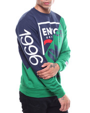 Enyce - French Terry Color Block Crewneck-2235304