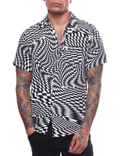 Reason - Warped Check Woven Shirt-2235012