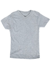 Arcade Styles - V-Neck Solid Tee (4-7)-2232894