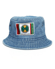 Cross Colours - Cross Colours Classic Denim Bucket Hat-2234726