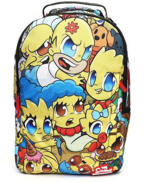 Sprayground - Simpsons Anime Pileup Backpack (Unisex)