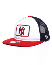 NBA, MLB, NFL Gear - New York Yankees Trucker Team Pride 9Fifty Snapback Hat-2234115