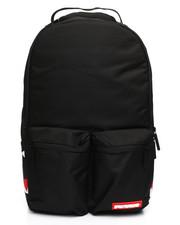 Sprayground - Black Double Cargo Side Shark Backpack (Unisex)-2235293