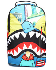 Sprayground - Hey Arnold Shark Mouth Backpack (Unisex)-2235300