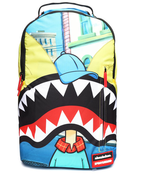 4620eea1749590 Buy Hey Arnold Shark Mouth Backpack (Unisex) Men's Accessories from ...