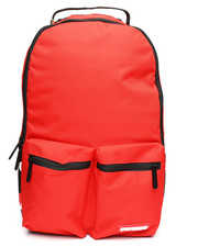 Sprayground - Red Double Cargo Side Shark Backpack (Unisex)-2235302