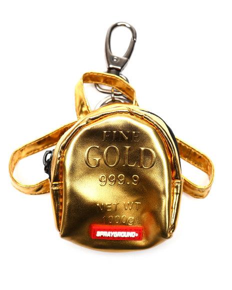 Sprayground - Gold Brick Keychain