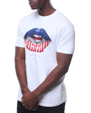 T-Shirts - Flag Lips Tee-2236022