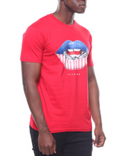 T-Shirts - Flag Lips Tee-2236035
