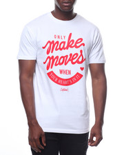 T-Shirts - Only Make Moves Heart Tee-2236073